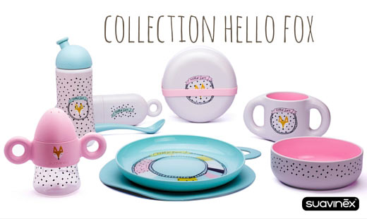 collection hello fox de suavinex