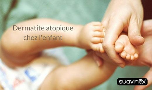 Dermatite atopique chez l'enfant