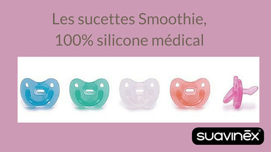 sucettes silicone