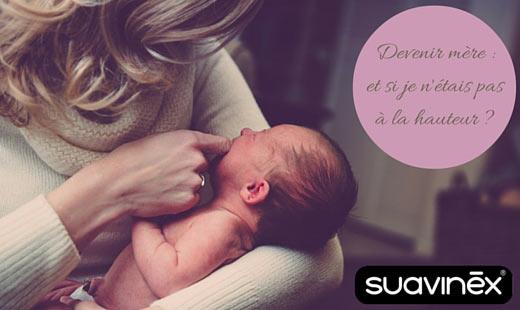 Devenir mère - et si je n'étais pas à la hauteur -