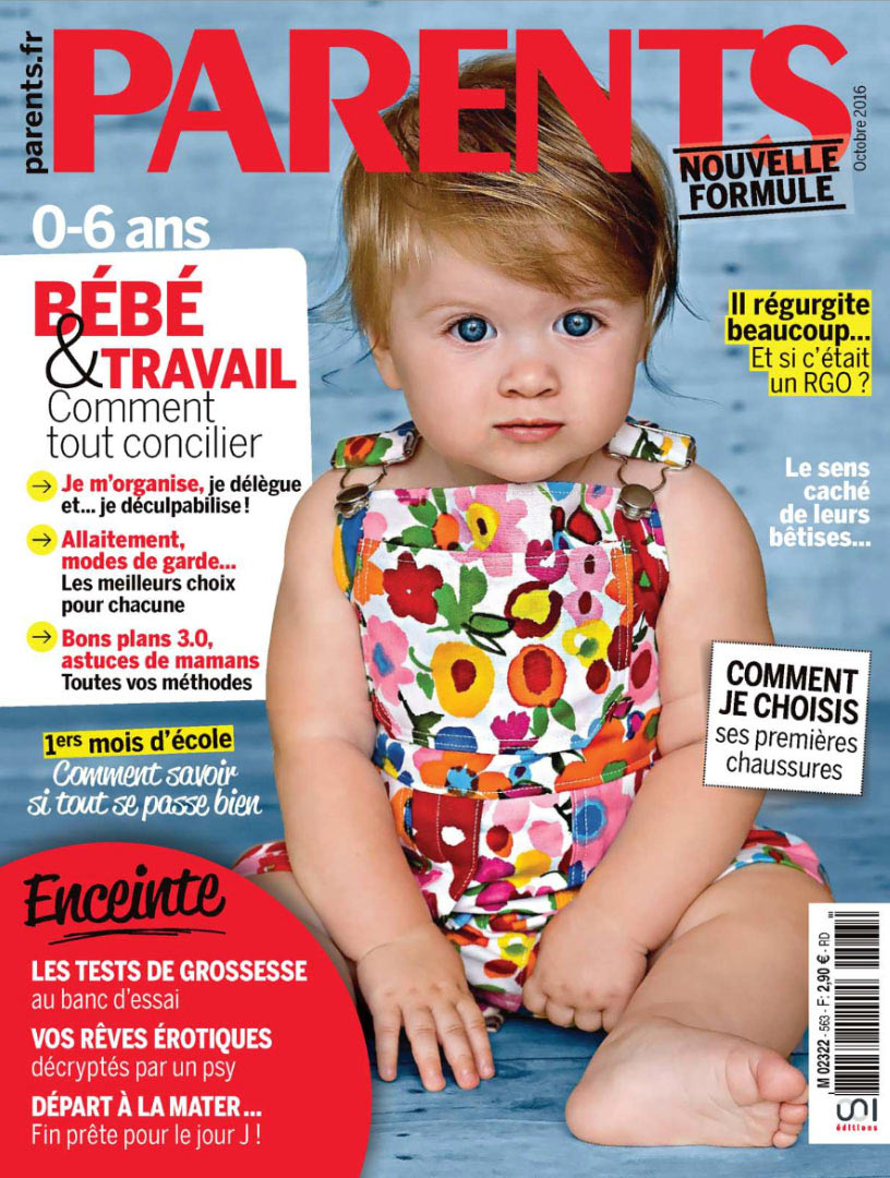 Suavinex dans le magazine Parents