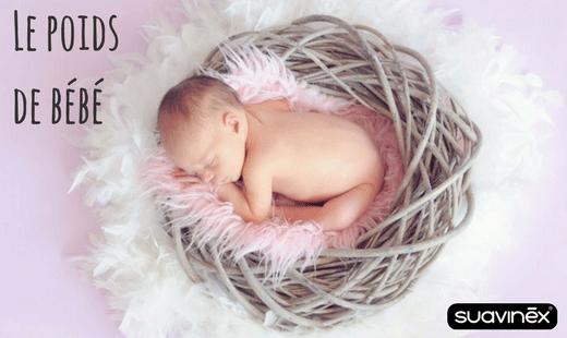 bébé perd du poids conseils blog Suavinex
