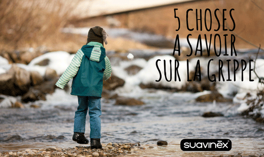 Grippe bébé enfant conseils blog Suavinex