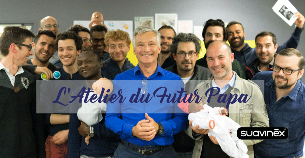Atelier futur papa concours fête des pères Suavinex