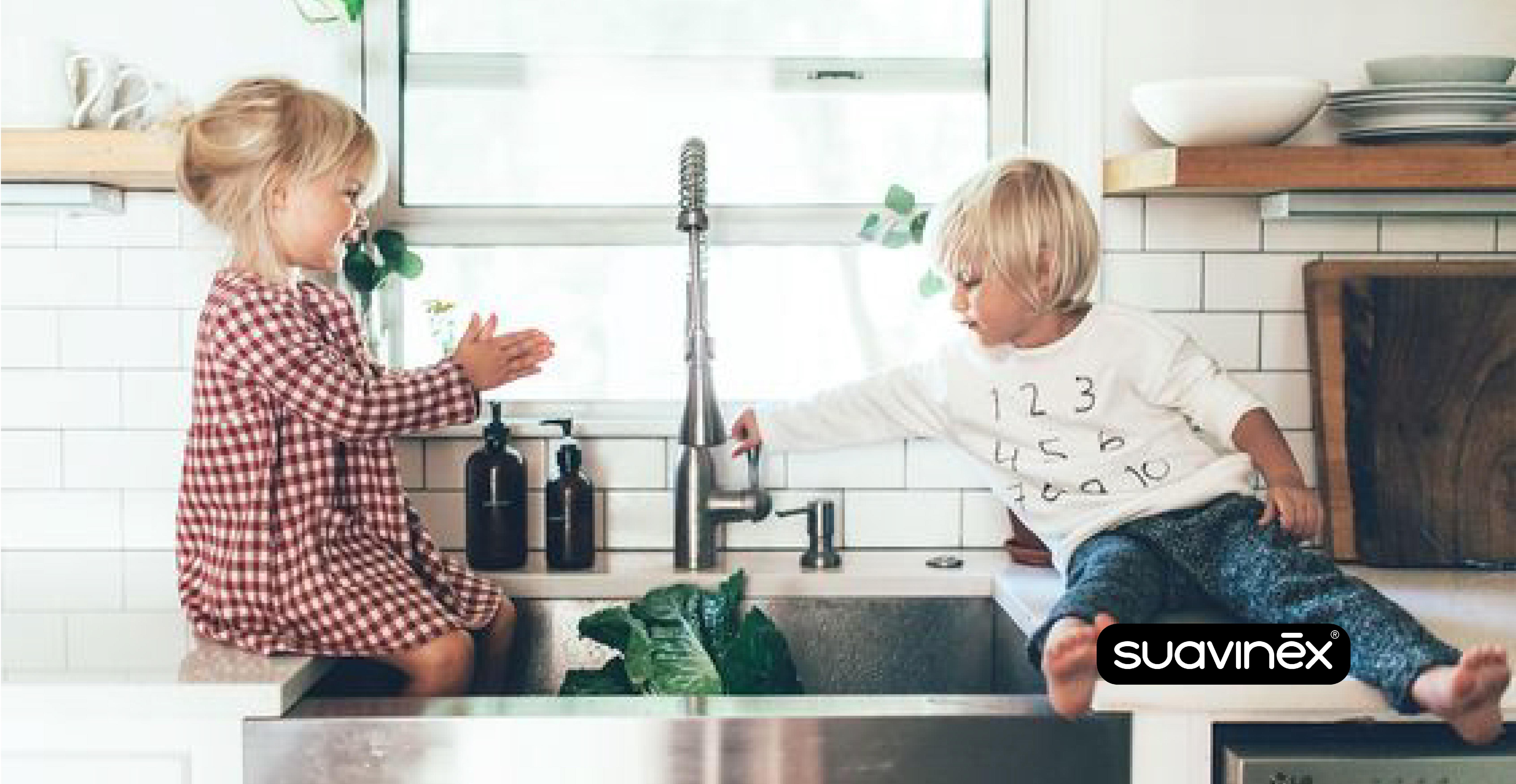 Lavage de main pour repousser maladies conseils blog Suavinex