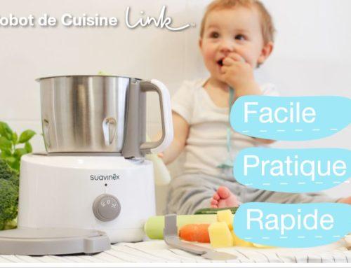 Nouveau Robot de Cuisine Link – La cuisine saine, facile … et design!