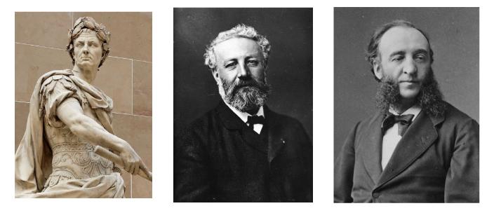 Jules Cesar, Jules Verne et Jules Ferry connus prénom signification Suavinex