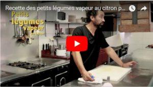 Video recette légumes vapeur