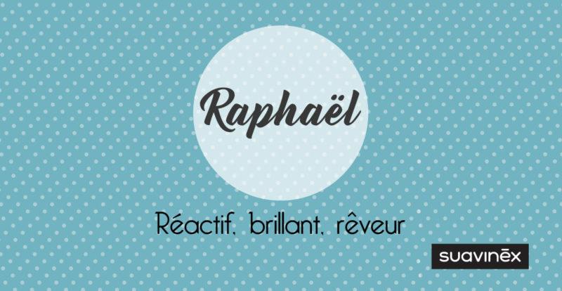prenom raphael origine signification caractere