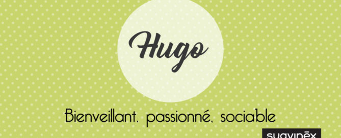 prenom hugo origine signification caractere