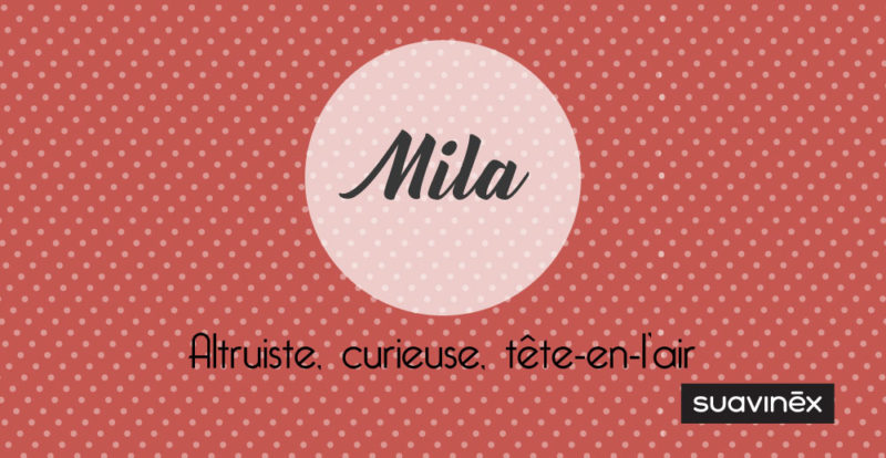 prenom mila signification caractere conseil blog grossesse