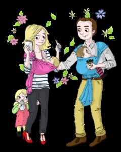 Slow Parentalité Parents Famille Bébé