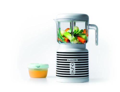 Avec le robot de cuisine Link de Suavinex, c'est facile de préparer le repas de bébé !