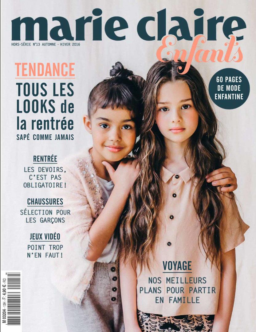 Suavinex dans le magazine Marie-Claire Enfants