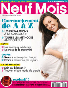 Suavinex dans le hors-série Neuf Mois Spécial grossesse
