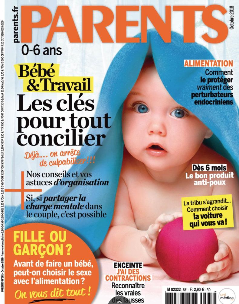 La collection Ethnic dans le magazine PARENTS Octobre 2018