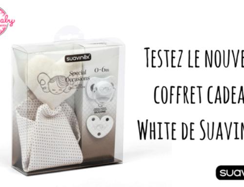 Recevez le coffret de naissance White, pour un bébé chic et élégant !