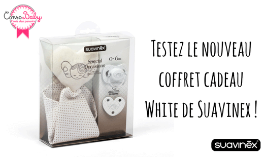 test consobaby coffret cadeau naissance white suavinex