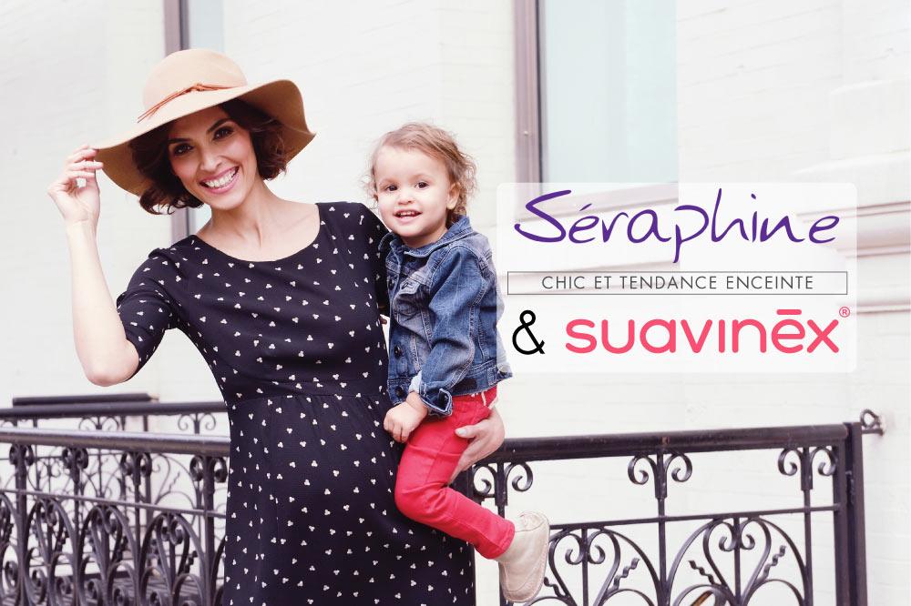 Partenariat Séraphine et Suavinex blog interview