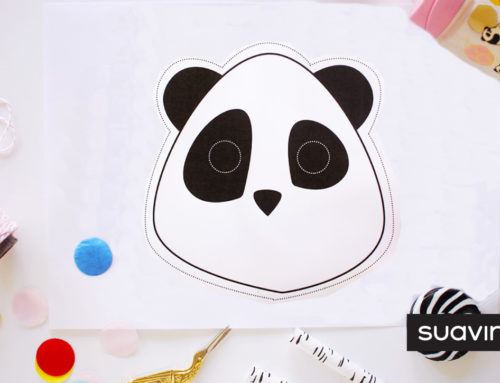 DIY : le masque panda mignon