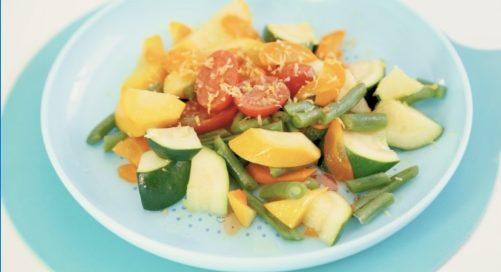 Recette Légumes Vapeur au Citron