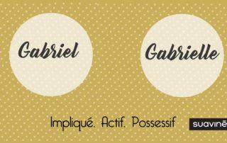 Prénom Gabriel Gabrielle