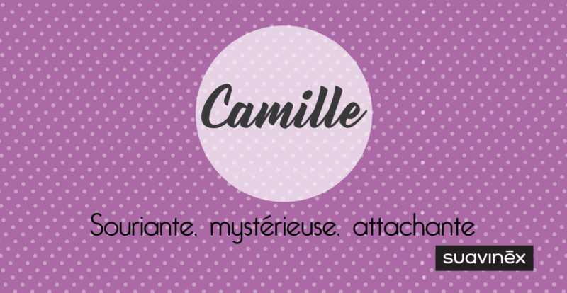 prenom camille origine signification caractere