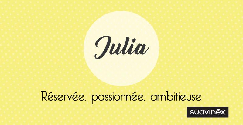 Prénom Julia Signification Caractère Et Petites Choses à Savoir