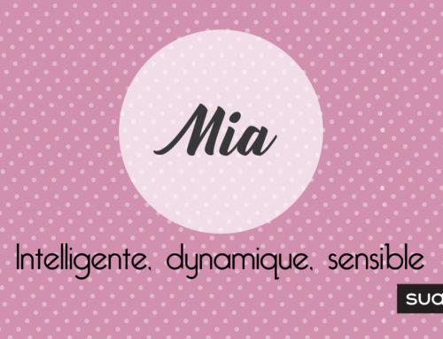 Prénom Mia : signification, caractère et petites choses à savoir