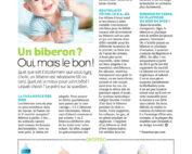 Suavinex - Biberon anti-colique zerø.zerø - article Magicmaman janvier 2019