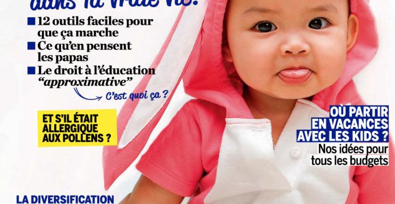 couverture magazine parents mai 2019