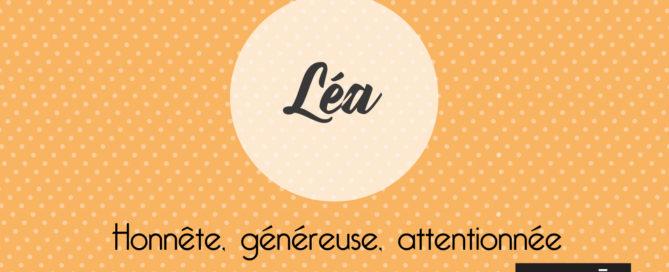 Prénom_Léa_Signification