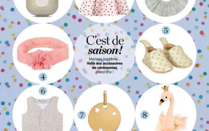 Suavinex dans le magazine Parents mai 2019