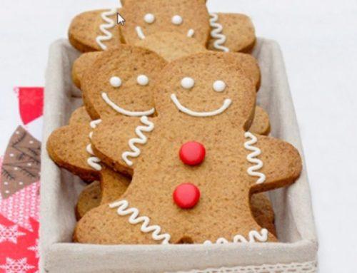 Recette de délicieux biscuits bonhommes de Noël